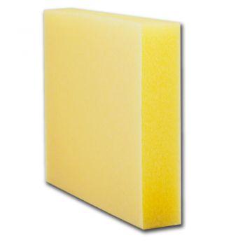 Lixa Espuma Dupla Face Amarela Grão 180 - com doze pares